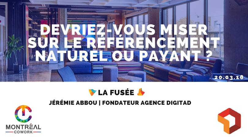 Conférence La Fusée #2 : Comment réussir son référencement web?