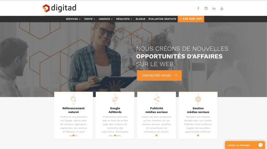 agence web marketing digitad