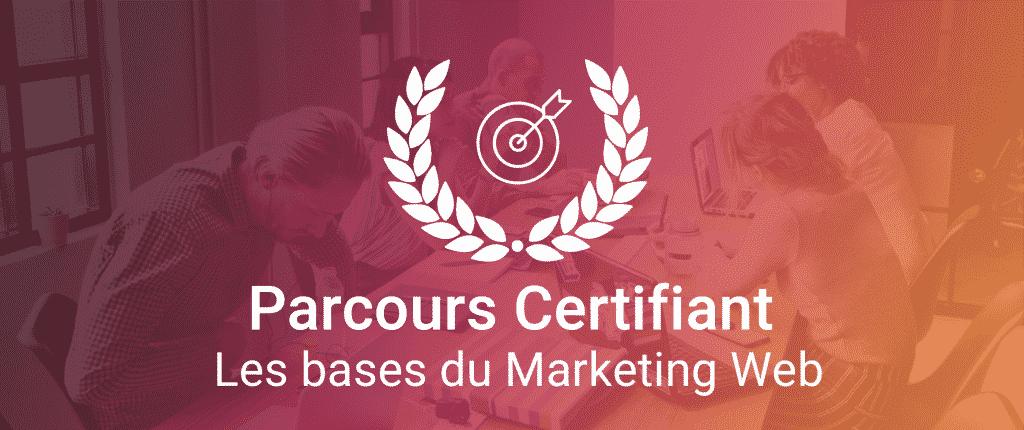 La Fusée Certification Marketing Web