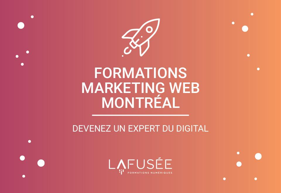 formation marketing web à montréal